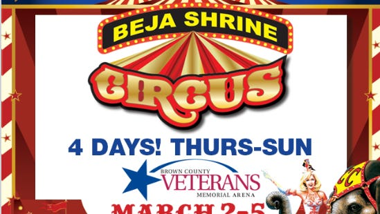 Beja Shrine Circus at the Veterans Memorial Arena