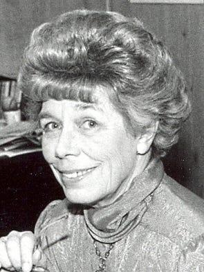 Keta Steebs (1926-2013) in 1988