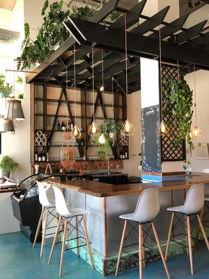 The expanded Urban Beets Cafe, 1401 N. King Drive, has a bar area. The cafe now pours beer and wine.