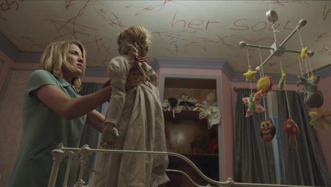 "Annabelle Wallis in a scene from ""Annabelle ."""