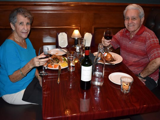 """Dr. Michael Yorio and Fay Sullivan might as well have a favorite table at Polo Grill, so restaurant week just made the answer to """"where to go for dinner"""" that much easier for them."""