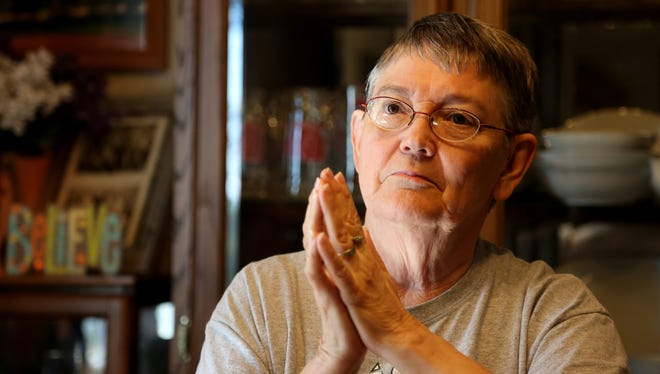 "Patsy Martin, 71, was diagnosed with amyotrophic lateral sclerosis, or ALS, just as she began duty as statewide chaplain of the American Legion Auxiliary. Martin published an ad in the Iowa Legionnaire newspaper that said, ""I will do my best to serve as chaplain with faith, dignity and integrity."""