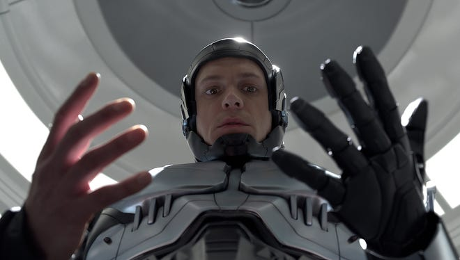 Joel Kinnaman takes on the role of cyborg law enforcement officer Alex Murphy in the reboot of 'Robocop.'