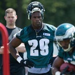 Philadelphia Eagles running back DeMarco Murray isn't worried about fewer reps in training camp.