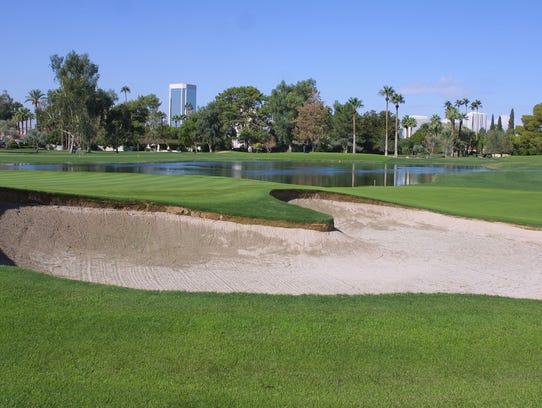 The Phoenix Country Club is located on the northeast