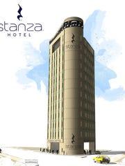 Stanza Hotel rendering