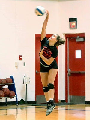 The Pretty Prairie High School volleyball team returns all its starters from last year.