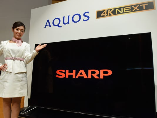 JAPAN-ELECTRONICS-SHARP