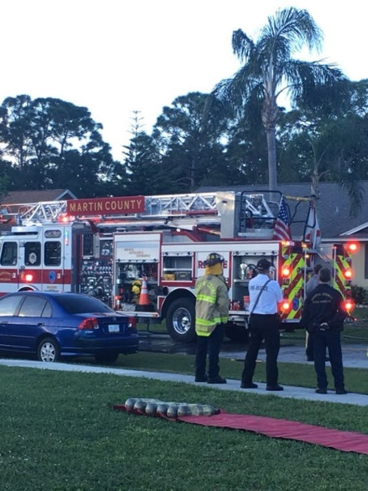 Fire on Southeast Raintree Avenue quickly extinguished