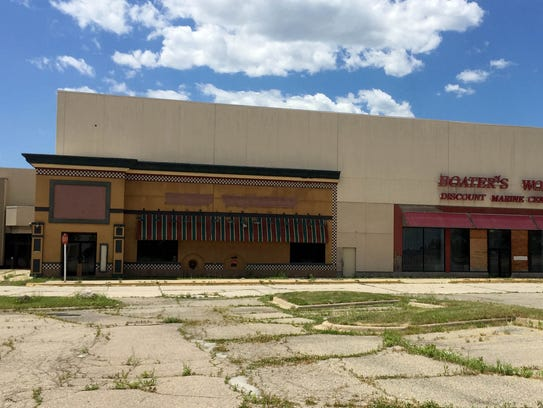 The abandoned Summit Place Mall in Waterford on June