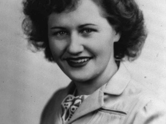 Rose Will Monroe is shown in this mid-1940s taken in