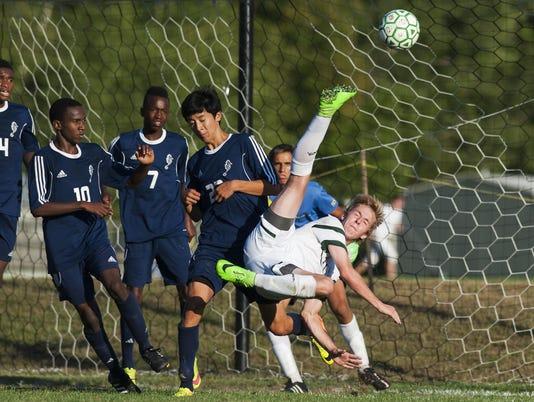 Burlington vs. Rice Boys Soccer 09/15/15
