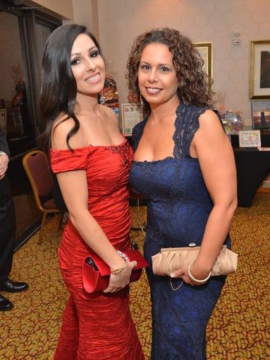 Vanessa Demira and Nicole Magliarditi  (Photo by Robert