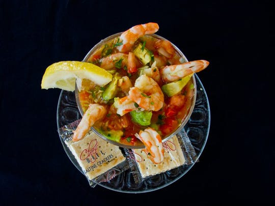Add different types of sea food meat to your salsa for a unique tasting side dish.