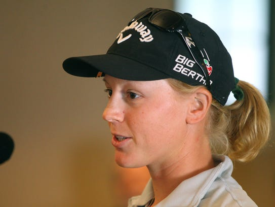 Madison Pressel, the younger sister of LPGA star Morgan