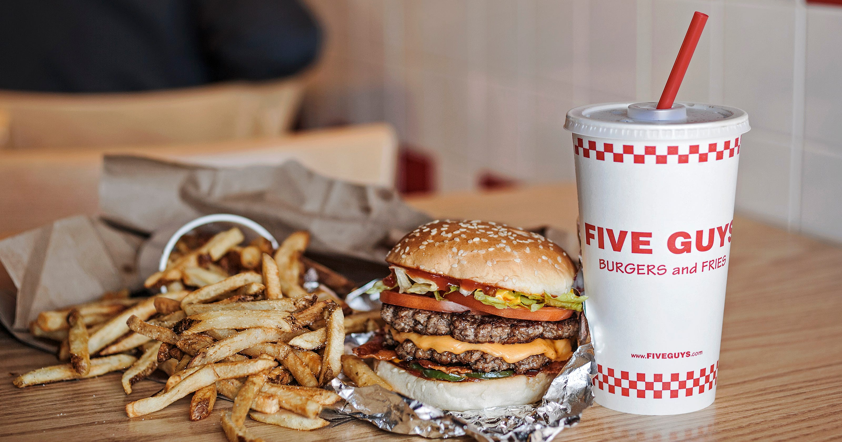 Five Guys is coming to West Des Moines