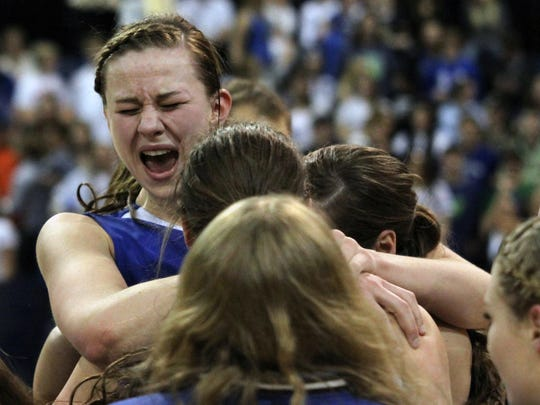 Fairfield celebrated winning its fourth-straight state championship and 104th consecutive win this year.