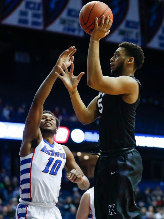 NCAA Basketball: Xavier at DePaul