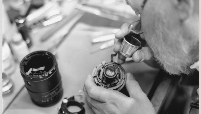 Wojcich is the old guard who has moved with the times, and as a self-trained camera repair man he's had to do his share of research to get the most out of and fix modern cameras.