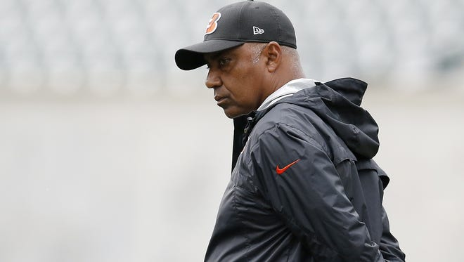 Cincinnati Bengals head coach Marvin Lewis is still in search of his first playoff victory.