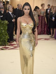 Kim Kardashian attends The Metropolitan Museum of Art's