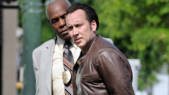 "Detective Peter St. John (Danny Glover) is on the trail of former mobster Paul Maguire (Nicolas Cage) after Maguire's daughter is abducted in ""Rage."""
