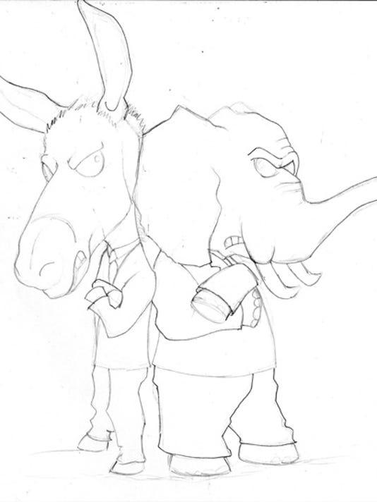politics sketch