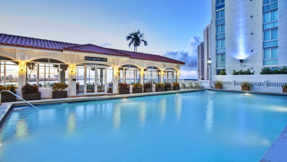 Downtown Miami hotels have gained in popularity in