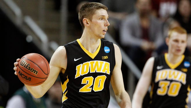 In the absence of Aaron White, senior-to-be Jarrod Uthoff should be the primary offensive focus for Iowa in 2015-16. is length, quickness and overall skill set should settle nicely into a lead role.