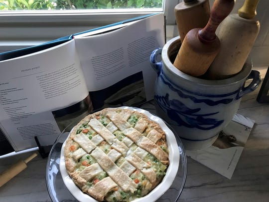 Homemade chicken pot pie: What can be better for a taste of home cooking?