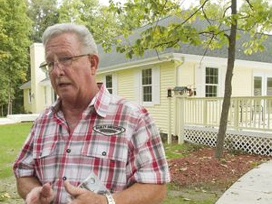 Brighton-area attorney Dennis Dubuc built the $400,000