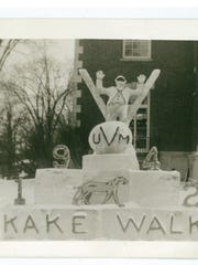 Kake Walk photo from the University of Vermont in 1942. The 80-year practice, which was based on blackface minstrel shows, was abolished in 1969.