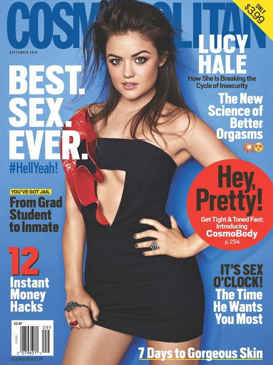 Cosmo Sept '14 Cover Lucy Hale