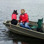 Dogs, owners bond during search and rescue training