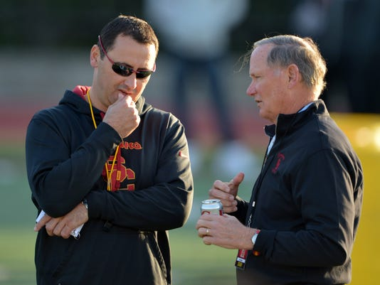 NCAA Football: Southern California Spring Practice