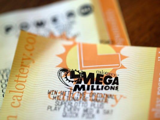 Mega Millions Ticket California