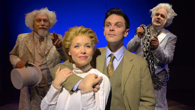"""""""Tim and Scrooge"""" will play at Westchester Broadway Theatre through Dec. 27."""