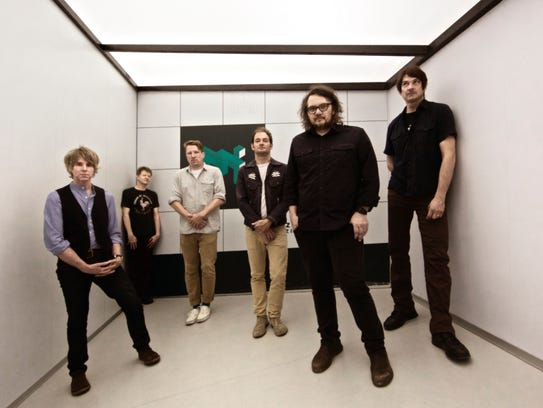 Chicago rockers Wilco play downtown's Orpheum on Thursday.