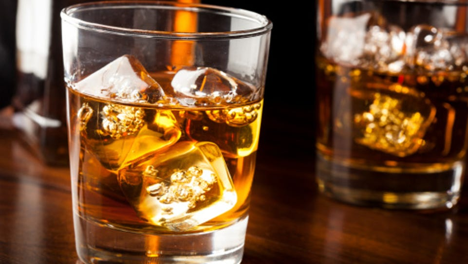 A file photo of an alcoholic drink served at a bar.