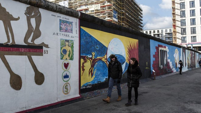 A group of artists plan to build a facsimile of the wall around a downtown Berlin block in mid-October to create an experience of traveling to a foreign country and losing the sense of freedom.