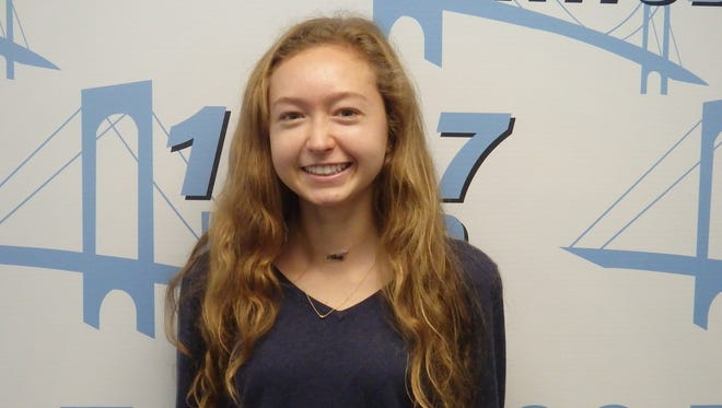 Hackley cross country's Julia Stevenson is this week's Con-Edison Athlete of the Week.