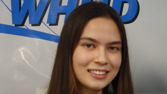 Scarsdale setter Annemarie Horn is the Con Edison Athlete