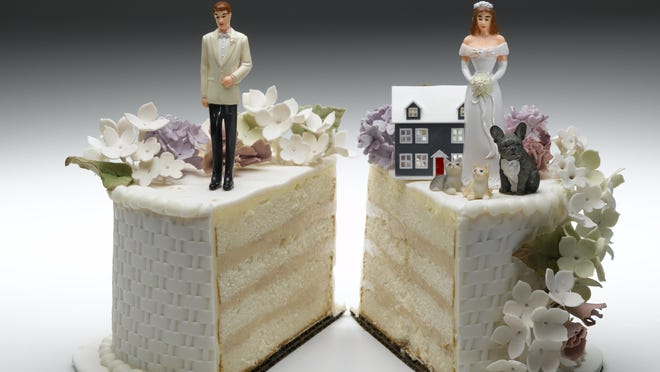 Divorce filings in Shawnee County in 2020 fell to their lowest rate in 36 years.