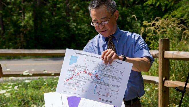 Walter Hang, of Ithaca-based environmental research group Toxics Targeting.