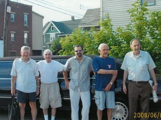 Joe Yanuzzi (second from left) died at the age of 85.