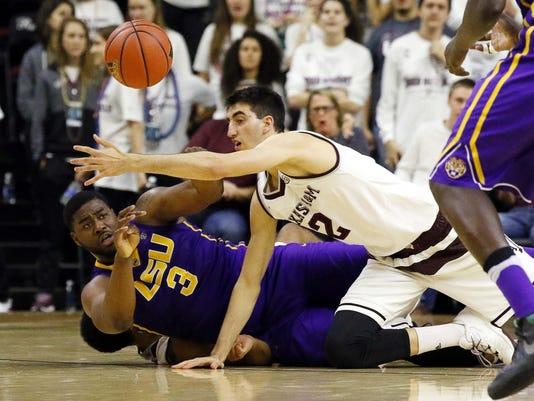 NCAA Basketball: Louisiana State at Texas A&M