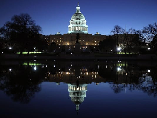 U.S. Capitol Reflection