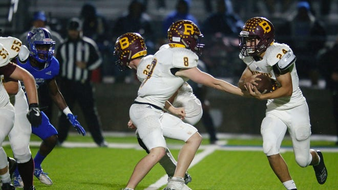 Bells junior Blake Rolen (8) and sophomore Grady Waldrip are among the Panthers who return in the backfield this season.