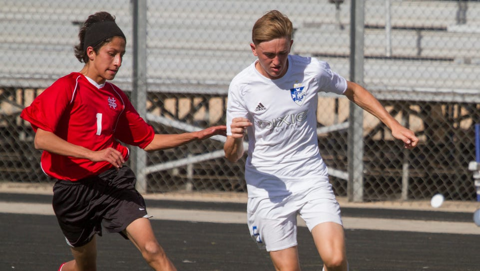 Dixie High soccer defeats North Sanpete 6-1 in the