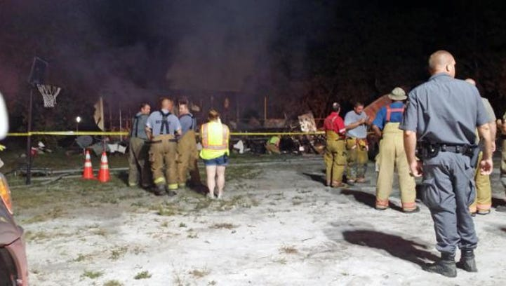 Six people died in a fire early Saturday at a residence in Garland.